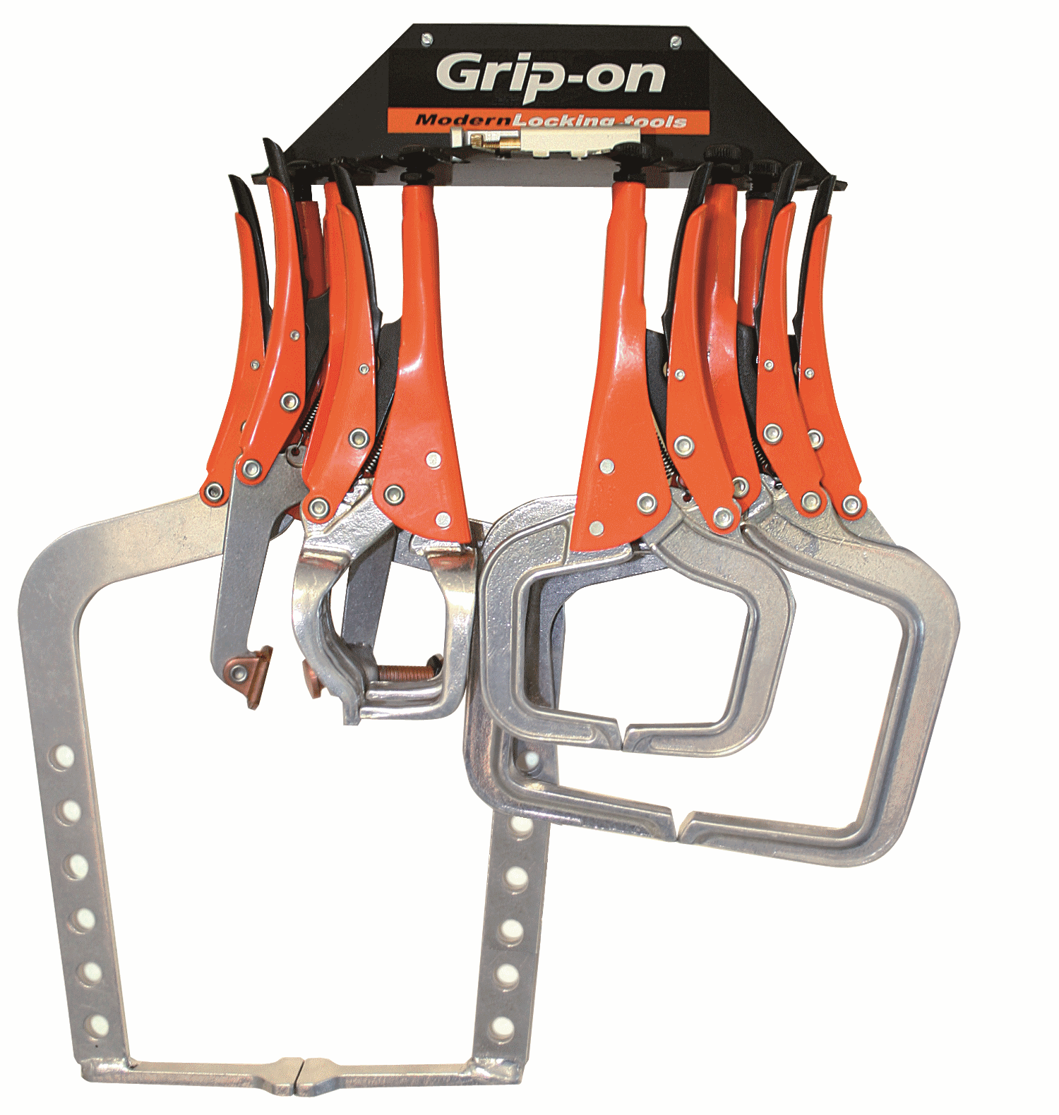GRIP-ON Aluminium Clamp Sats, 10 stk.