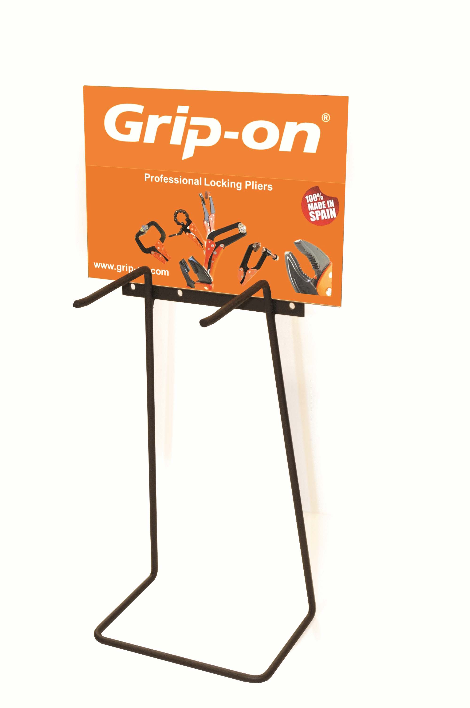 GRIP-ON Butiksdisplay tom
