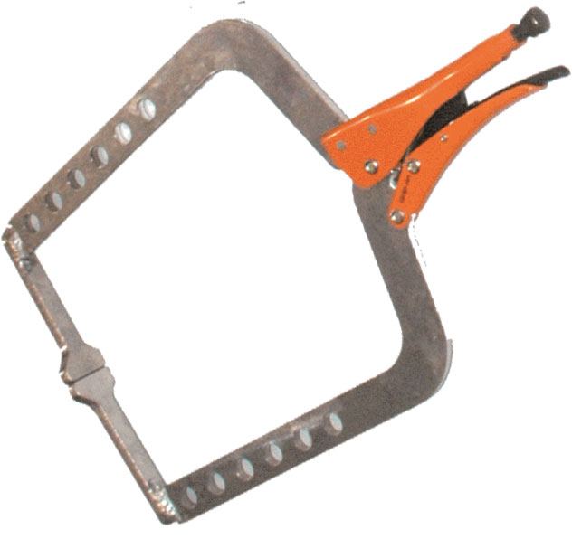 GRIP-ON Aluminium C-Clamps